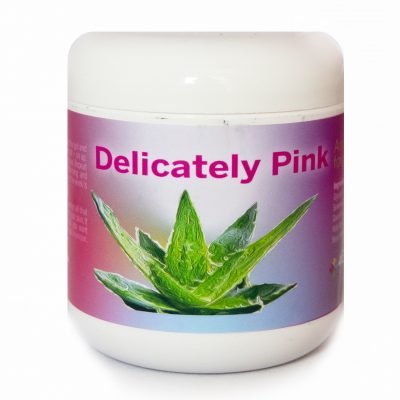 Delicately pink
